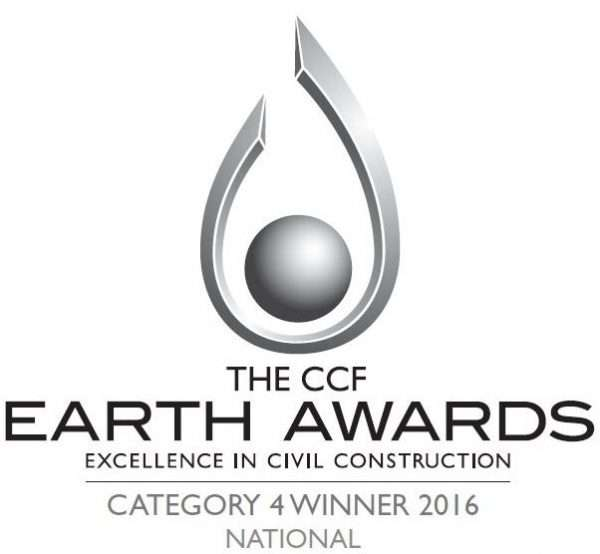CCF Earth awards Cat 4 Winner logo National Award